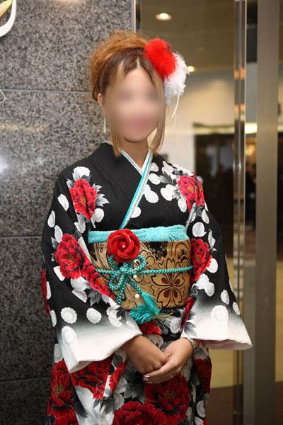 No.087まりりん 振袖スナップ写真4