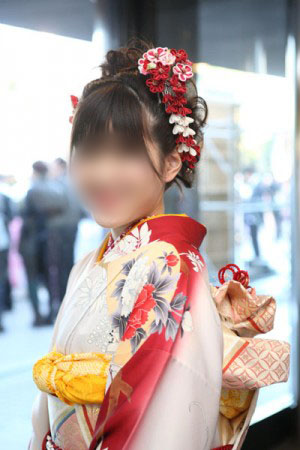 No.088ゆっきー 振袖スナップ写真1