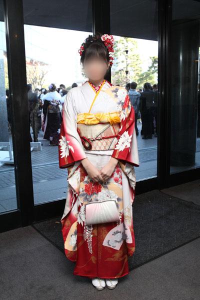 No.088ゆっきー 振袖スナップ写真2