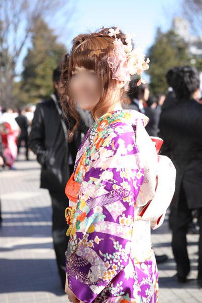 No.090りおぱら 振袖スナップ写真3