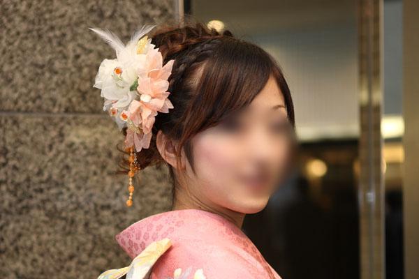 No.091りさ 振袖スナップ写真1