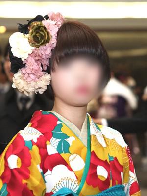 No.092レイ 振袖スナップ写真1