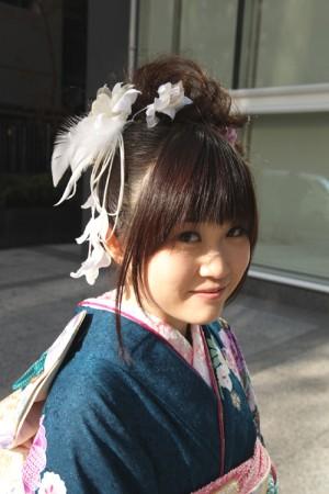 No.096Misaki 振袖スナップ写真1