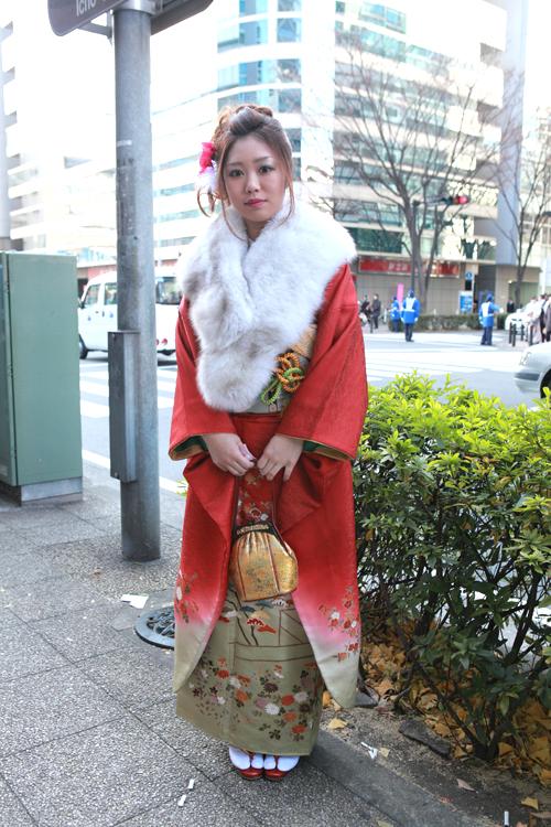 No.127まい 振袖スナップ写真3
