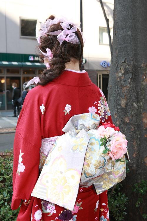 No.132みさき 振袖スナップ写真3