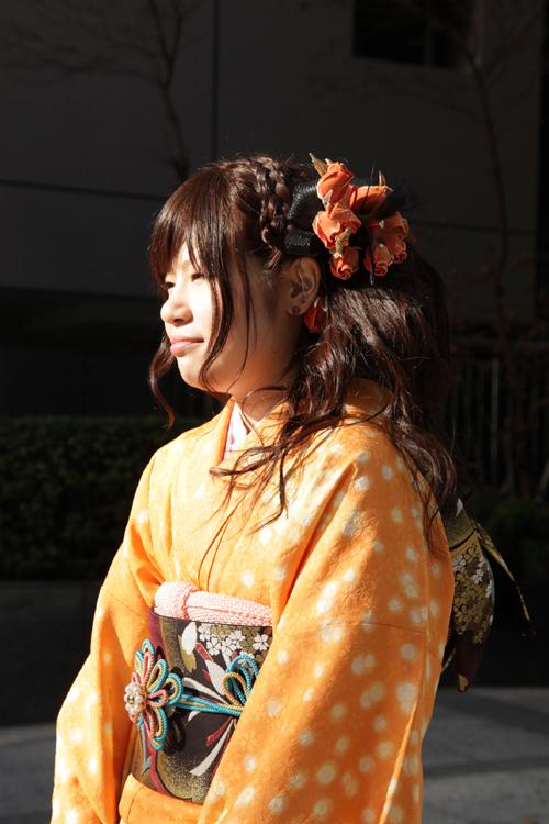 No.135みっちー 振袖スナップ写真3