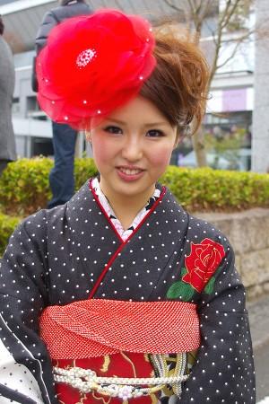 No.153MARINA 振袖スナップ写真1