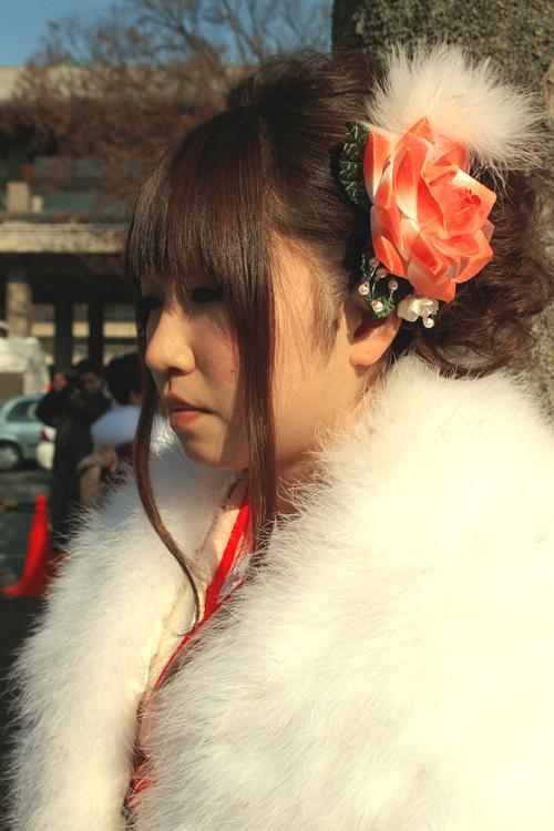 No.157くり 振袖スナップ写真3