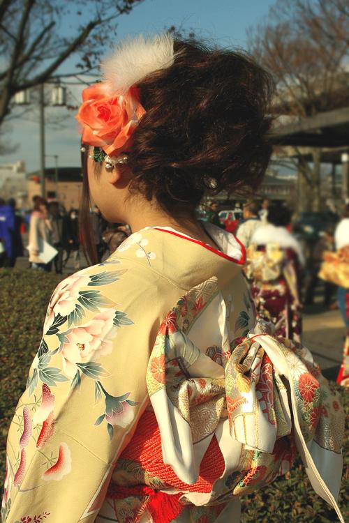 No.157くり 振袖スナップ写真4