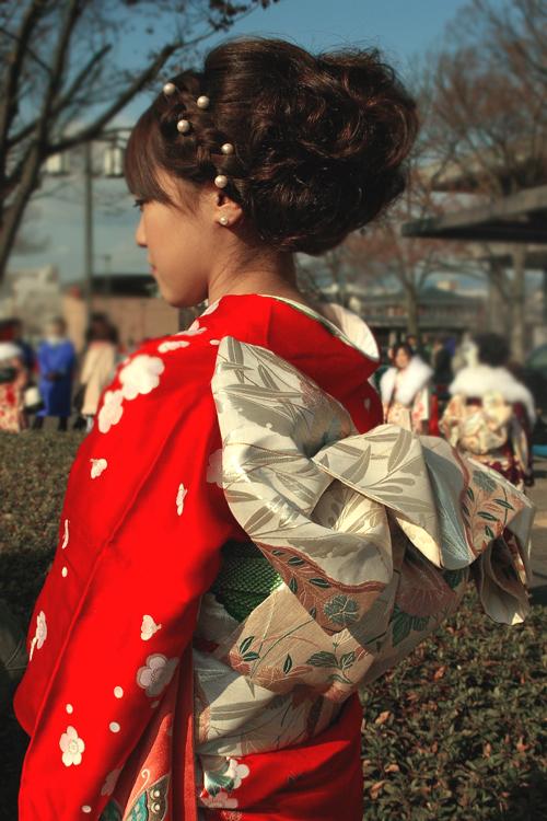 No.158さおり 振袖スナップ写真4