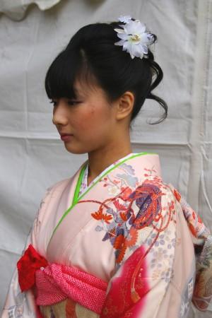 No.163ちー 振袖スナップ写真1