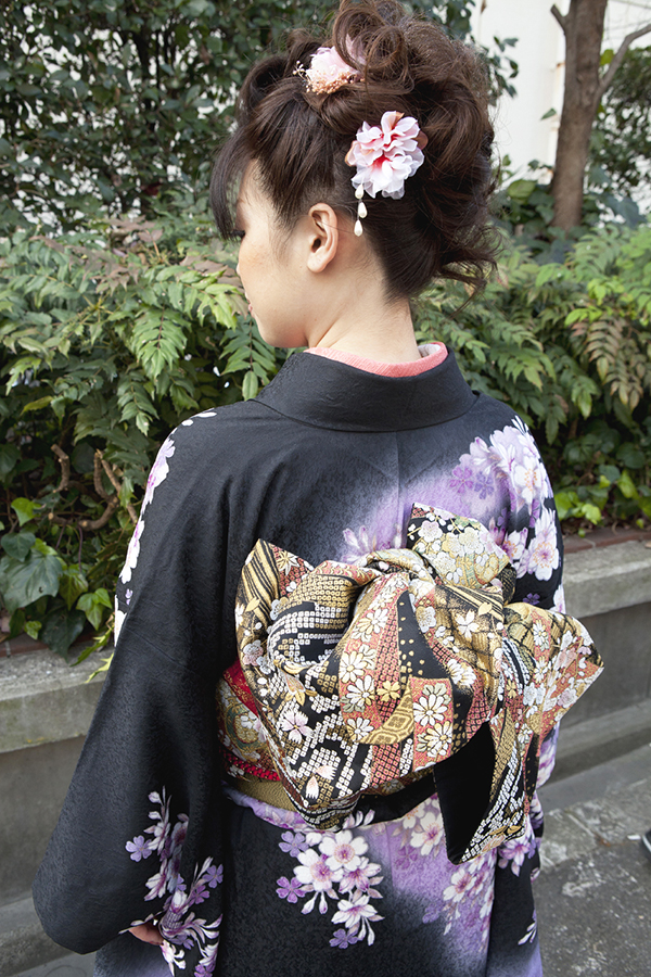 No.182大阪ガール5 振袖スナップ写真4