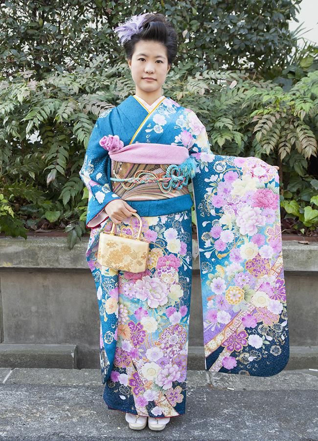 No.186大阪ガール9 振袖スナップ写真2