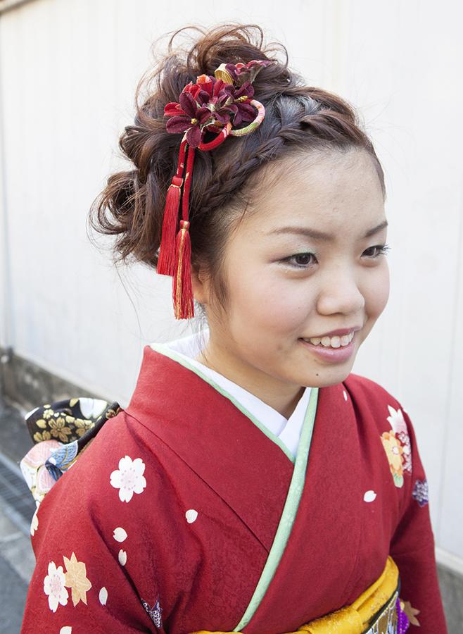 No.190 大阪ガール13 振袖スナップ写真1