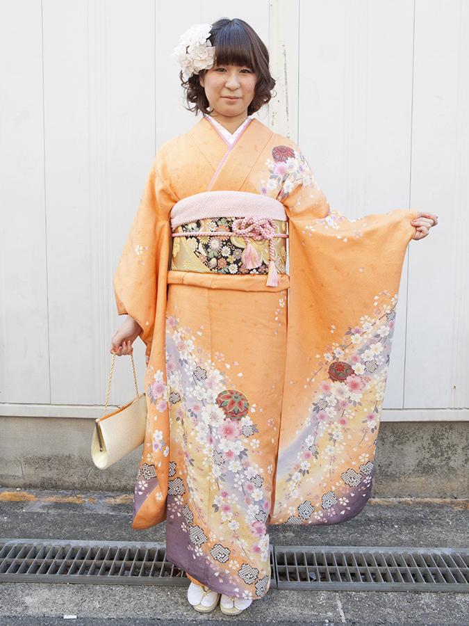 No.192大阪ガール15 振袖スナップ写真2