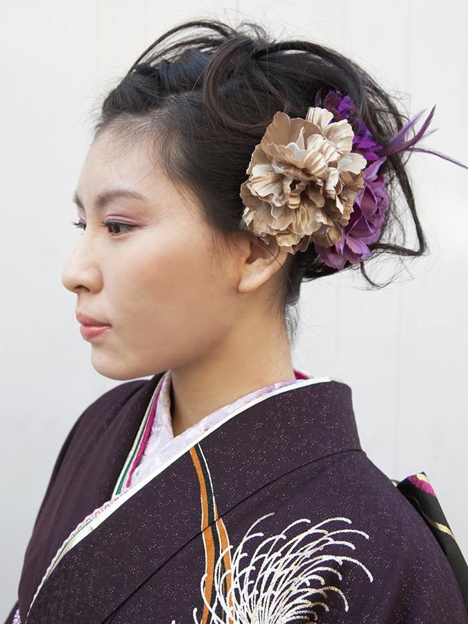 No.193大阪ガール16 振袖スナップ写真1