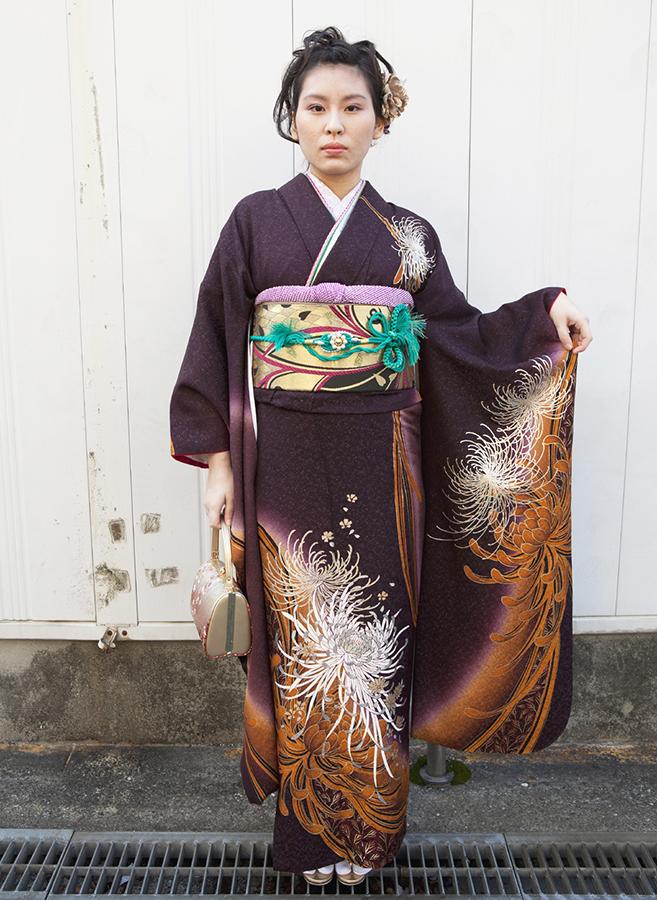 No.193大阪ガール16 振袖スナップ写真2
