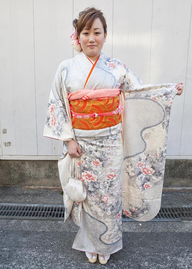No.194大阪ガール17 振袖スナップ写真2