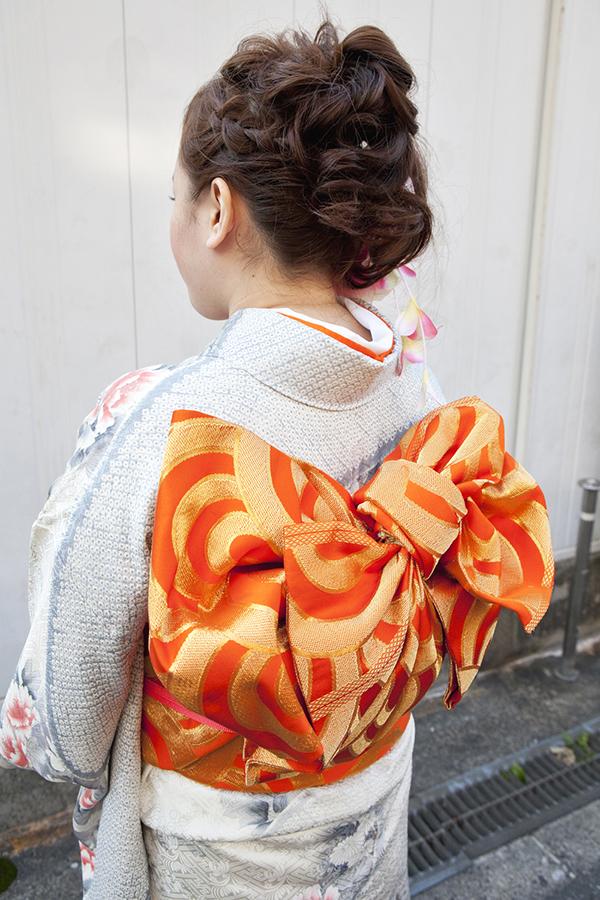 No.194大阪ガール17 振袖スナップ写真3