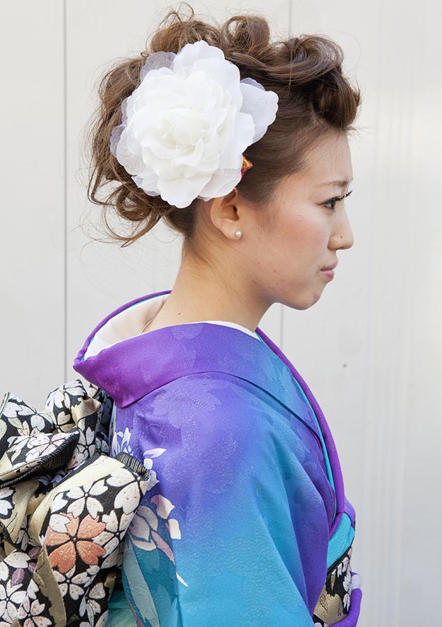 No.195大阪ガール18 振袖スナップ写真3