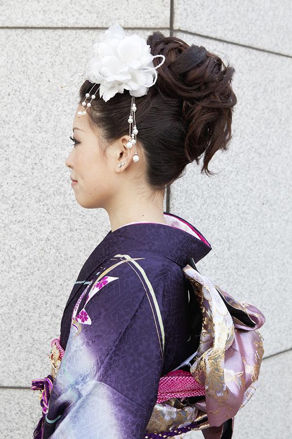 No.196大阪ガール19 振袖スナップ写真3