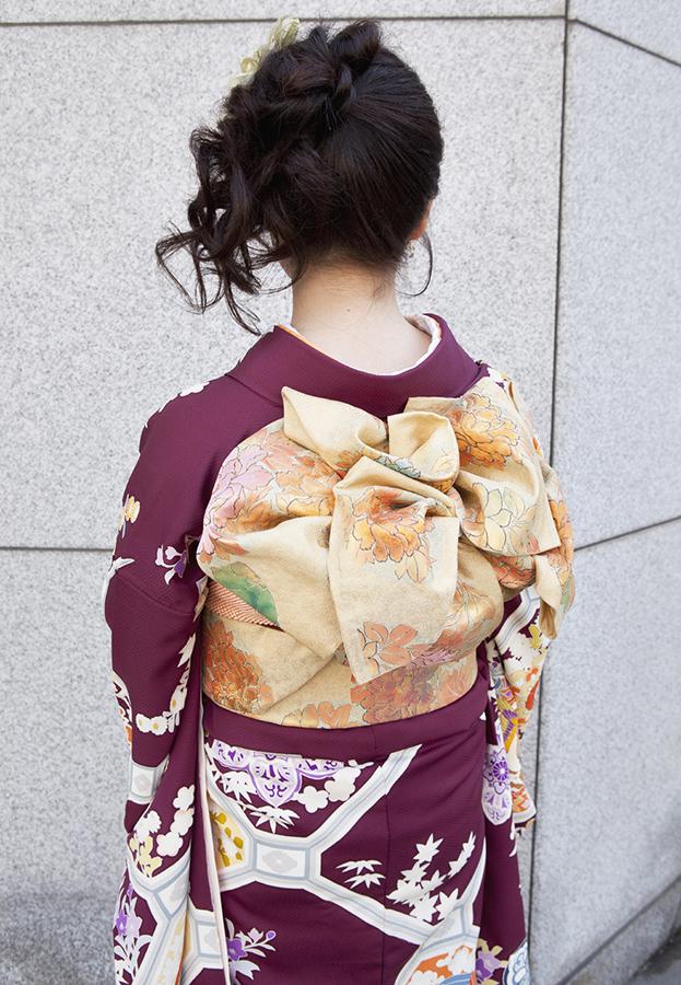 No.197大阪ガール20 振袖スナップ写真4