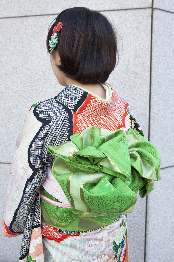 No.198大阪ガール21 振袖スナップ写真4