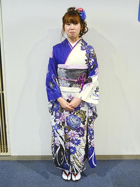 No.687 ゆーちゃん 振袖スナップ写真2