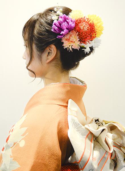 No.661 ちー 振袖スナップ写真3