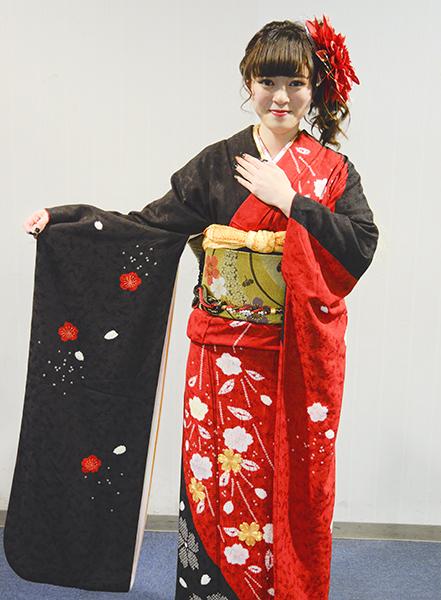 No.653 きなこ 振袖スナップ写真3