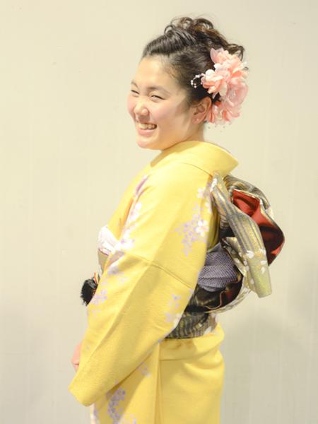No.659 しの 振袖スナップ写真3