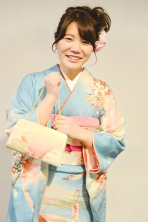 No.660 しほり 振袖スナップ写真1