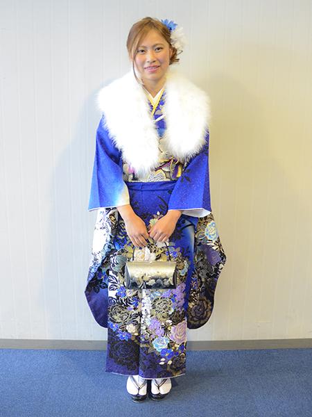 No.699 れんちゃん 振袖スナップ写真2