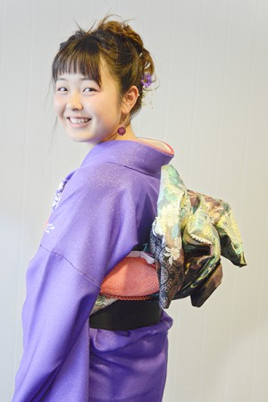 No.671 はるちゃん 振袖スナップ写真1