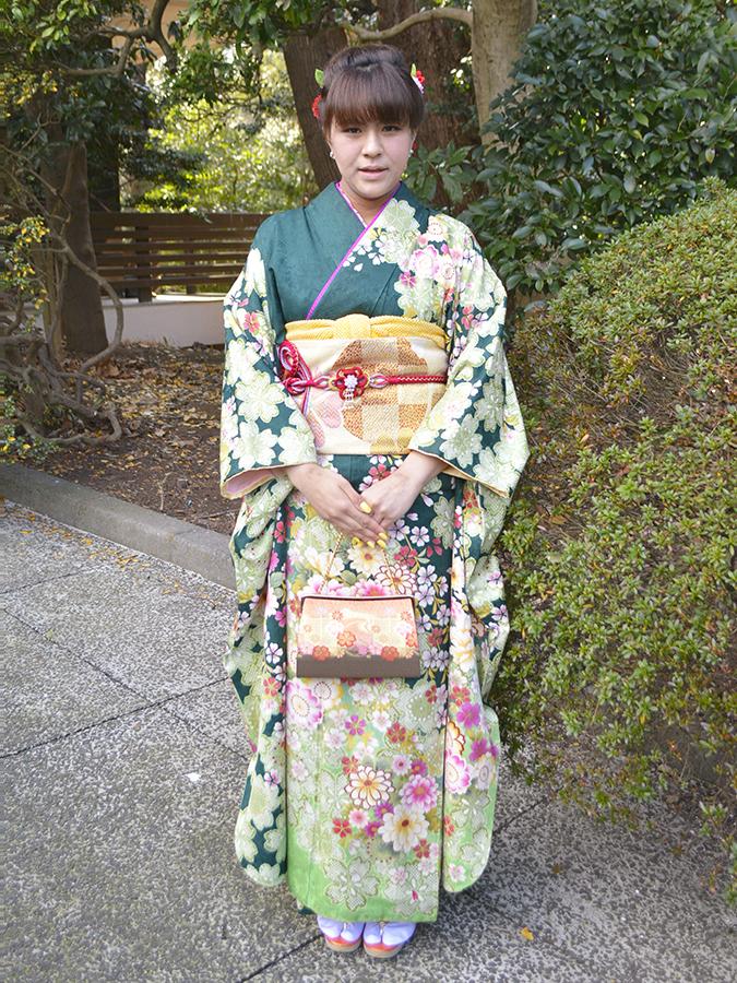 No.701れな 振袖スナップ写真3