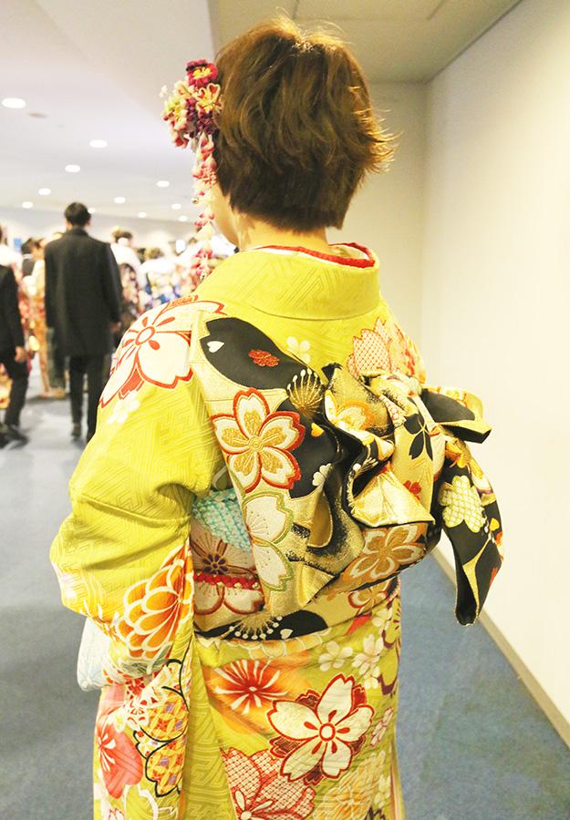 No.651 かほ 振袖スナップ写真3
