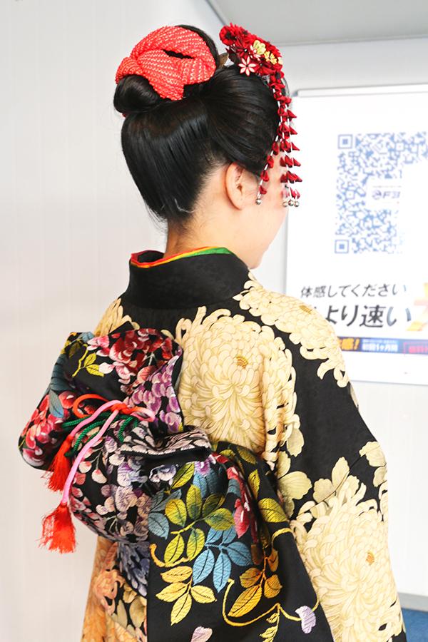 No.682 みかむし 振袖スナップ写真4