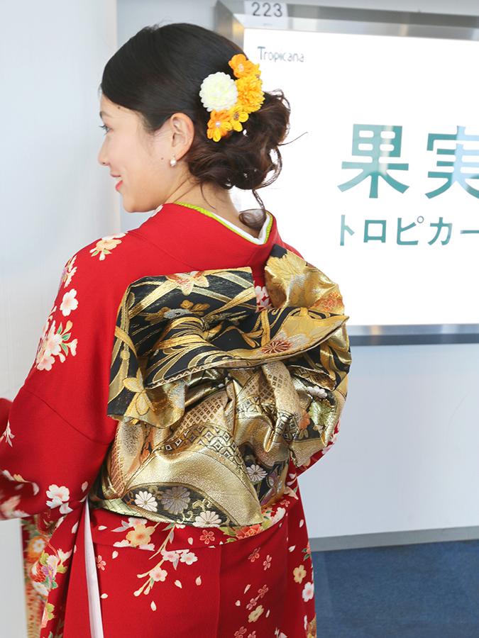 No.650 かな 振袖スナップ写真3