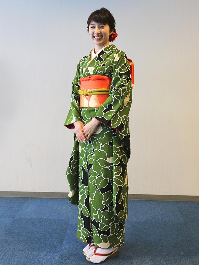 No.665 なつ 振袖スナップ写真2