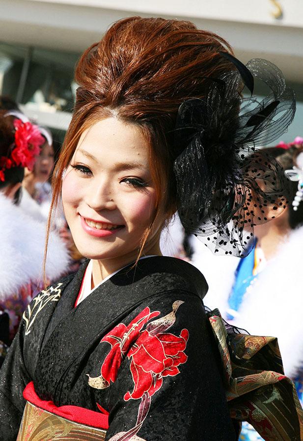 No.201アンコロ 振袖スナップ写真4