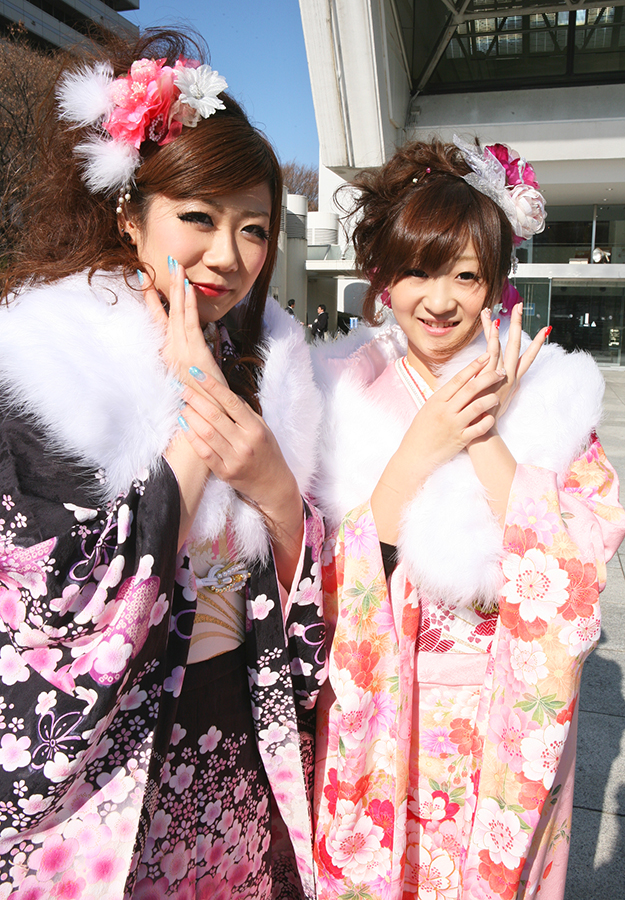 No.203かおりん&ミサミサ 振袖スナップ写真4
