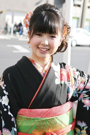 No.205くみこ 振袖スナップ写真1