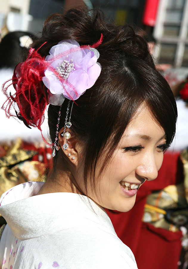 No.213ノン 振袖スナップ写真4