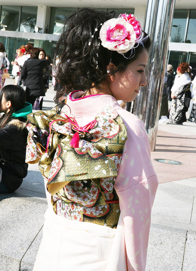 No.223やすき 振袖スナップ写真3