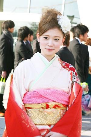 No.224ユキ 振袖スナップ写真1