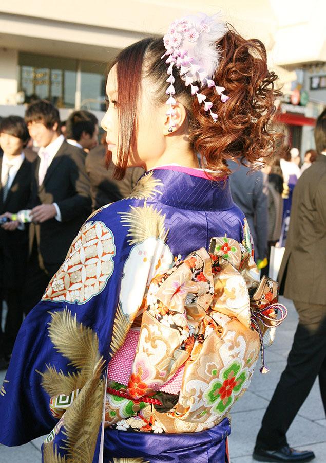 No.225ラピ 振袖スナップ写真4