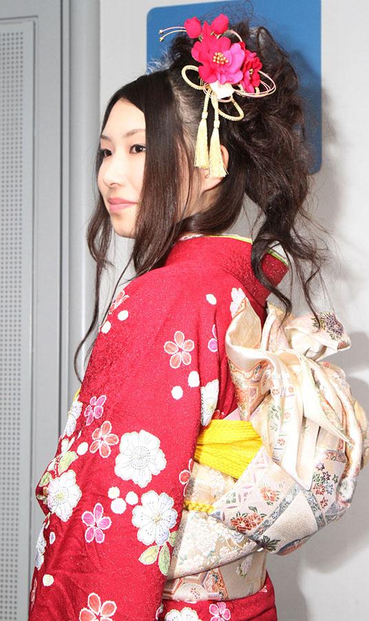 No.245なっちゃん 振袖スナップ写真3