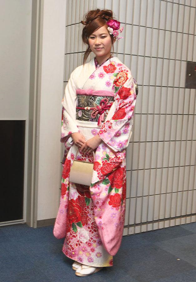 No.264ゆみ 振袖スナップ写真2