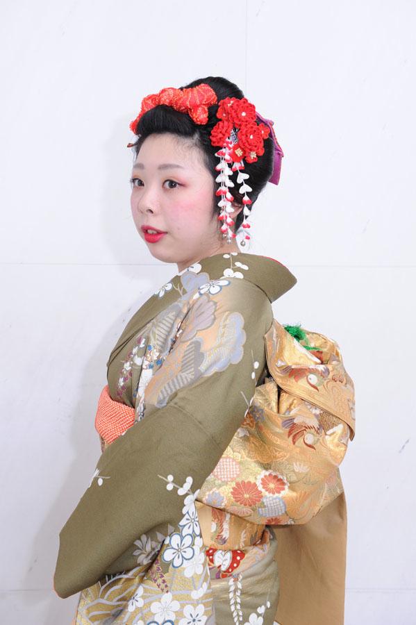 No.291ヤマモト 振袖スナップ写真1