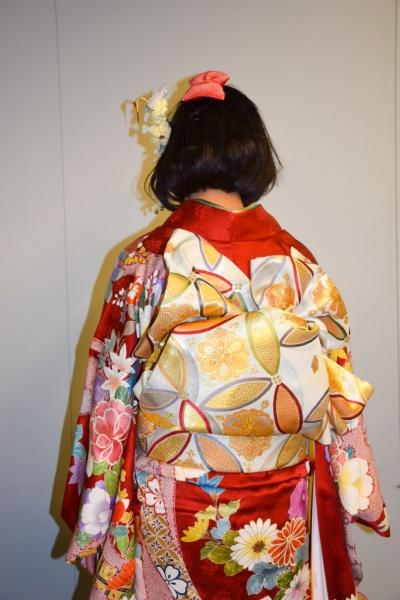 No.353ユリちょ 振袖スナップ写真3